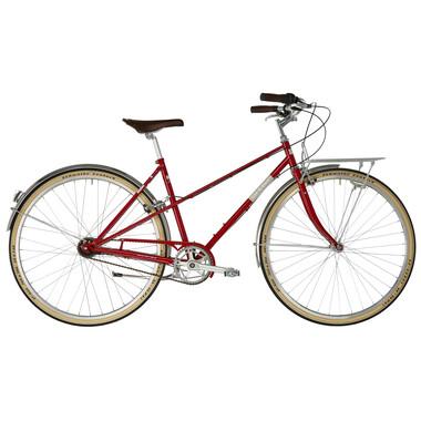 Vélo Hollandais ORTLER BRICKTOWN TRAPEZ Rouge 2019